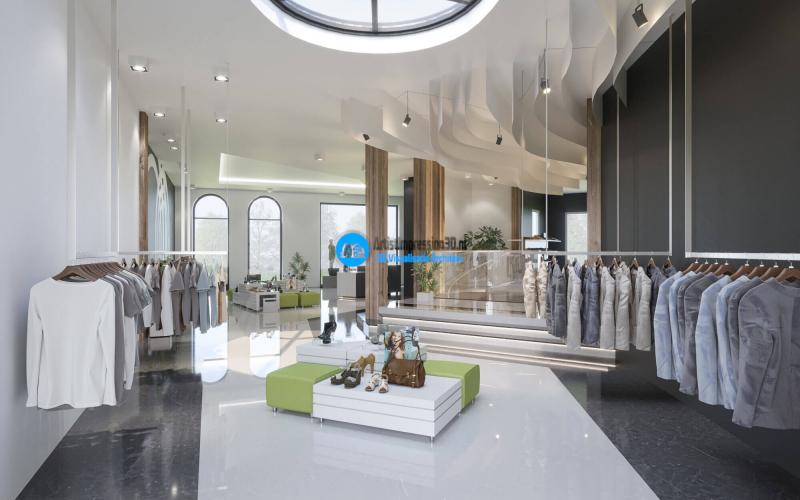 3D Exterieur Impressie Winkelpand Amsterdam