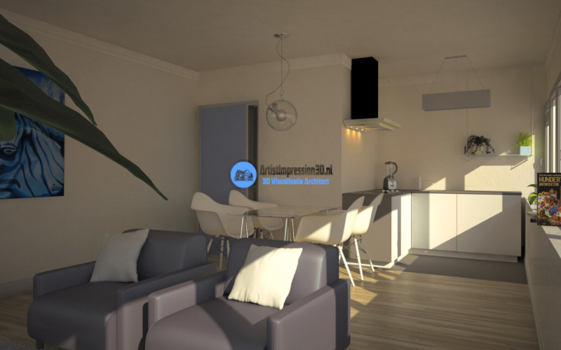 3D Interieur Render