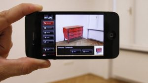 augmented-reality-app interieur design