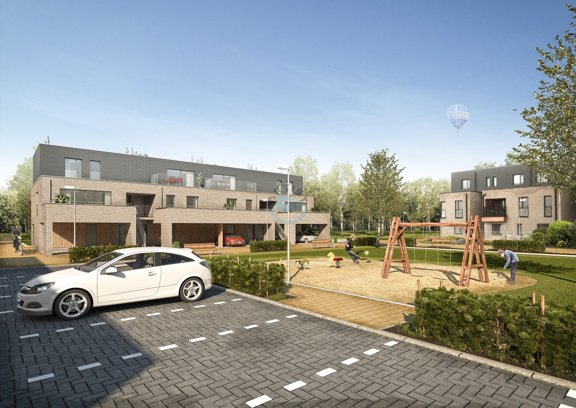 Artist-Impression-Woonwijk-Huizen