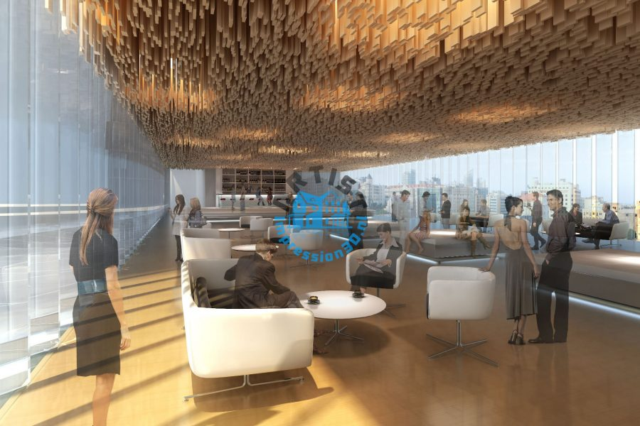 Dubai Winkelcentrum Artist Impression