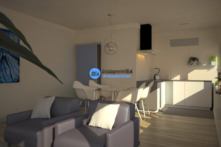 3D Interieur Render