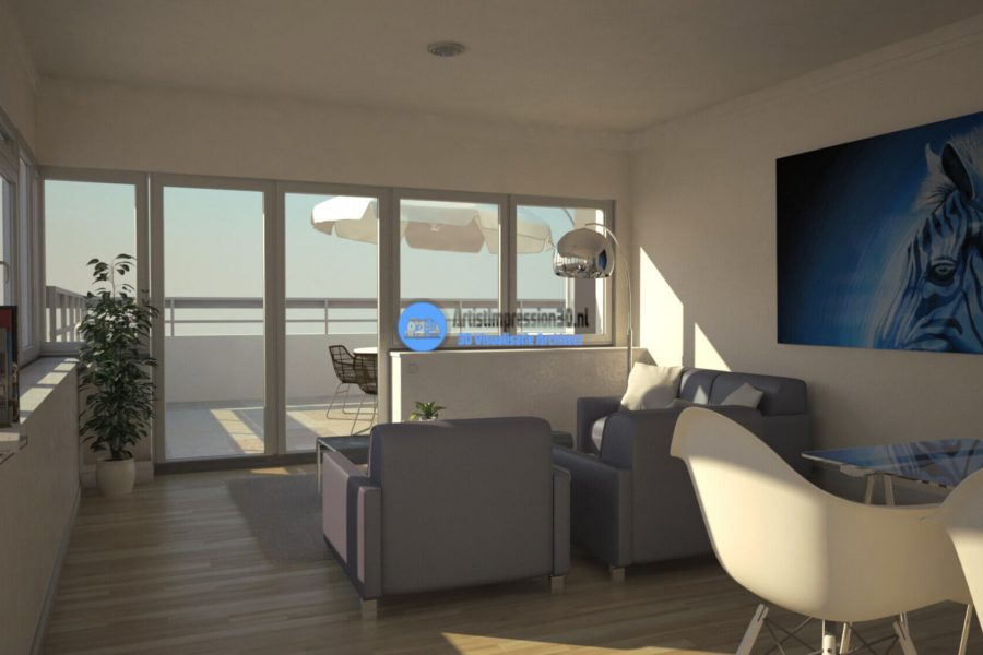 3D Interieur Renders