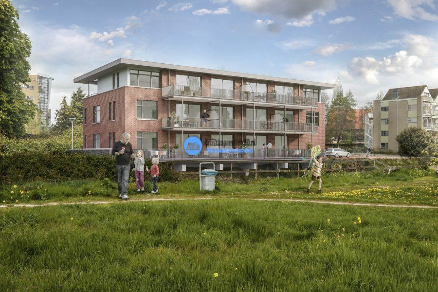 3D Impressie Woningen Halfweg Nederland