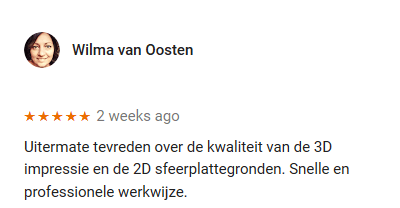 Google Review 3D & 2D Artist Impressions