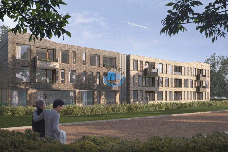 Exterieur Render 3D Appartementencomplex